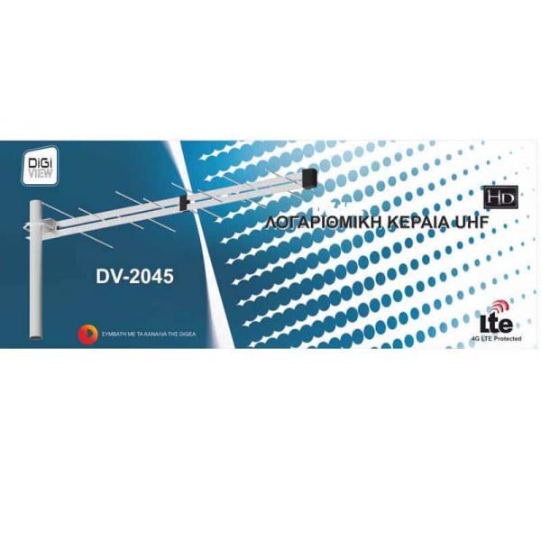 DV-2045 ΛΟΓΑΡΙΘΜΙΚΗ ΚΕΡΑΙΑ DIGIVIEW 2