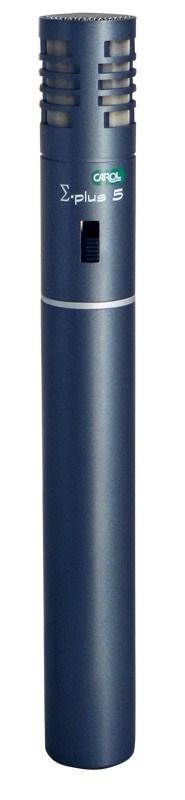CAROL Σ-Plus 5 Πυκνωτικό Επαγγελματικό Μικρόφωνο 1