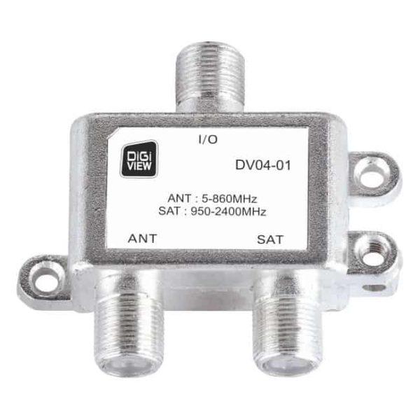 DIGIVIEW DV04-01 COMBINER ANT/SAT 1