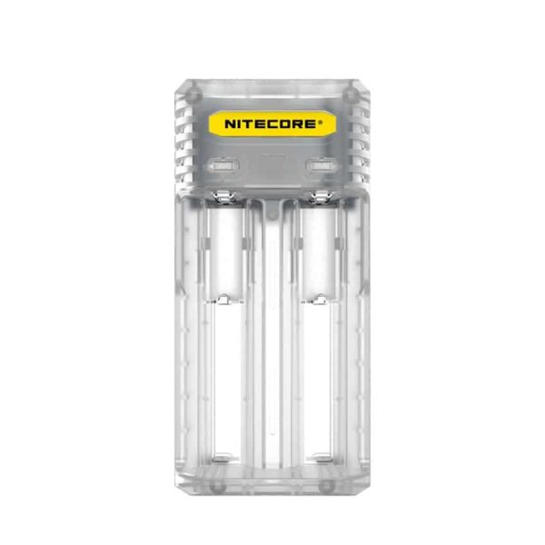 NITECORE Q2 Φορτιστής μπαταριών λιθίου 2 θέσεων lemonade 1