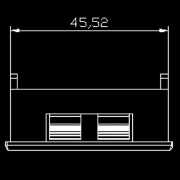 SK48X29 Ψηφιακό βολτόμετρο 3-30VDC 3