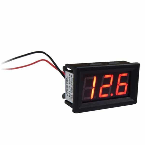 SK48X29 Ψηφιακό βολτόμετρο 3-30VDC 1