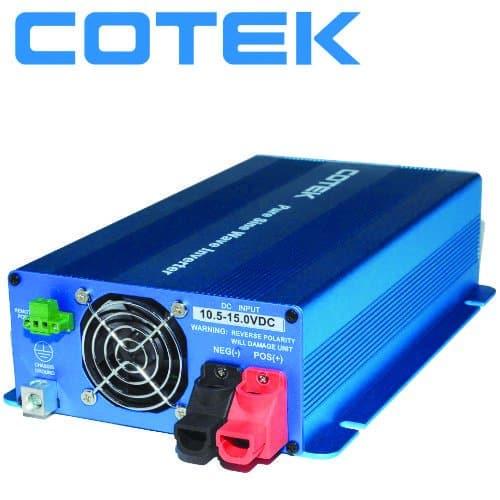 COTEK SK-700-12 INVERTER ΚΑΘΑΡΟΥ ΗΜΙΤΟΝΟΥ 12V -> 230V 700W 1