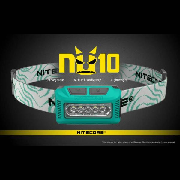 NITECORE ΦΑΚΟΣ LED HEADLAMP NU10 160LM 6