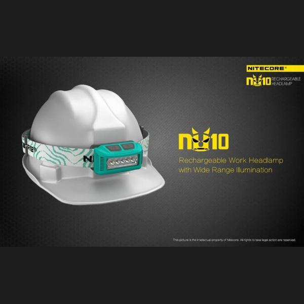 NITECORE ΦΑΚΟΣ LED HEADLAMP NU10 160LM 7