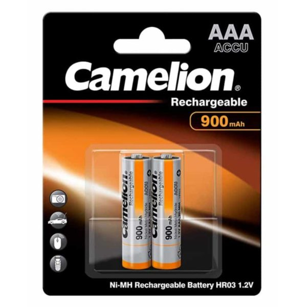 Camelion Μπαταρία Επαναφορτιζόμενη AAA 900mAh NH-AAA900BP2 (2τμχ.) 1
