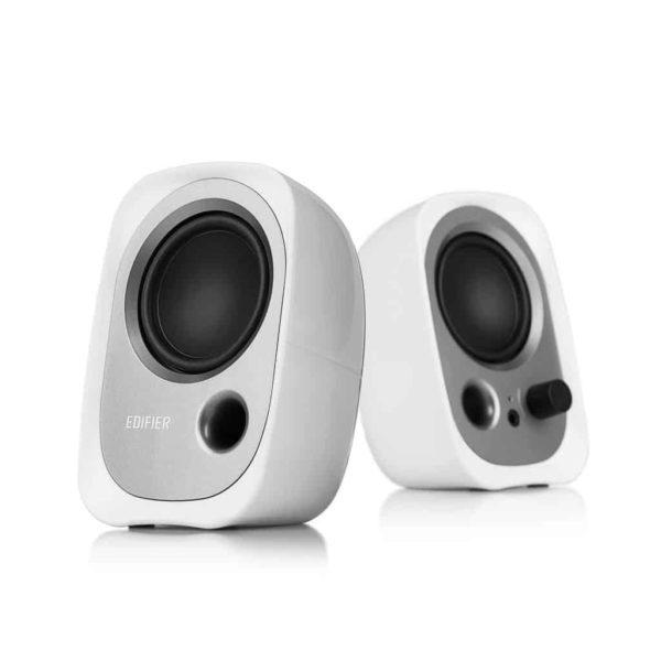 Edifier R12U Simple USB Bookshelf Speakers White