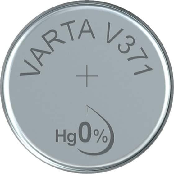 VARTA V371 Μπαταρία για ρολόι silver oxide 1.55V (1τμχ) 1