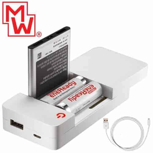 ΜINWA USB Φορτιστής μπαταριών Li-Po/Li-ion/Ni-Cd/Ni-MH MWI316 1