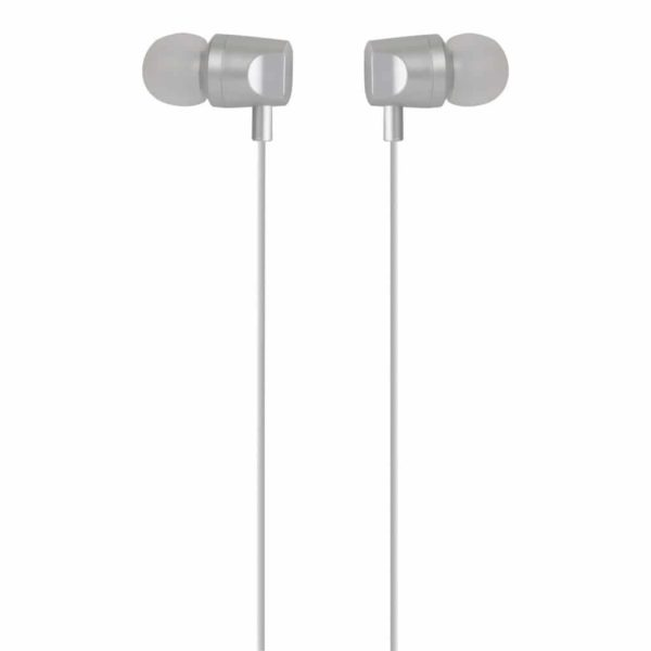 WESDAR R1 STEREO IN-EAR EARPHONES WITH VOLUME CONTROL WHITE 1