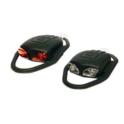 DPM SILICONE BICYCLE LED LIGHT SET BS-FT208D