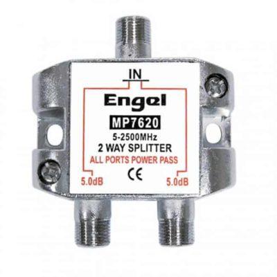 ENGEL Splitter F 2 Εξόδων 5-2500MHz MP7620