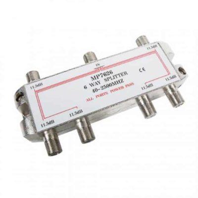 ENGEL Splitter F 6 Εξόδων 5-2500MHz MP7626