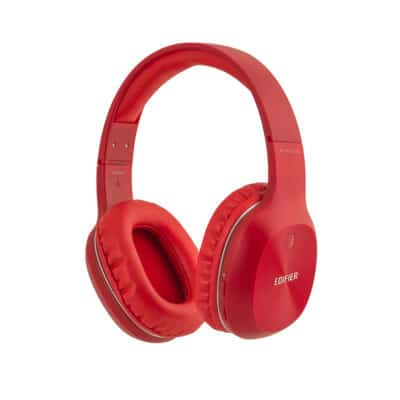Edifier W800BT Plus Stereo Bluetooth Headphones Red