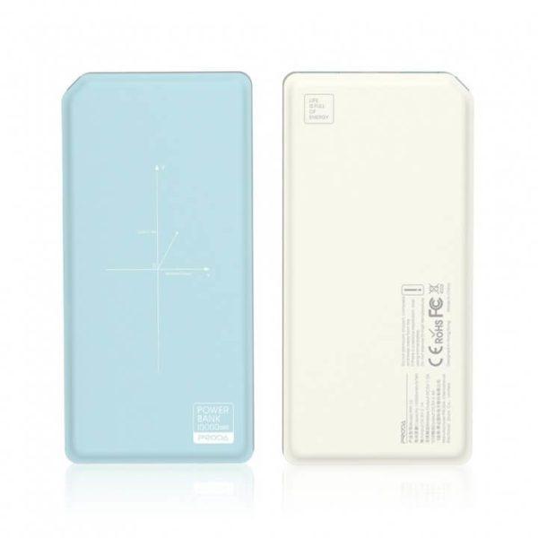 PRODA Wireless power bank 10000mAh PPP-33 blue/white 1