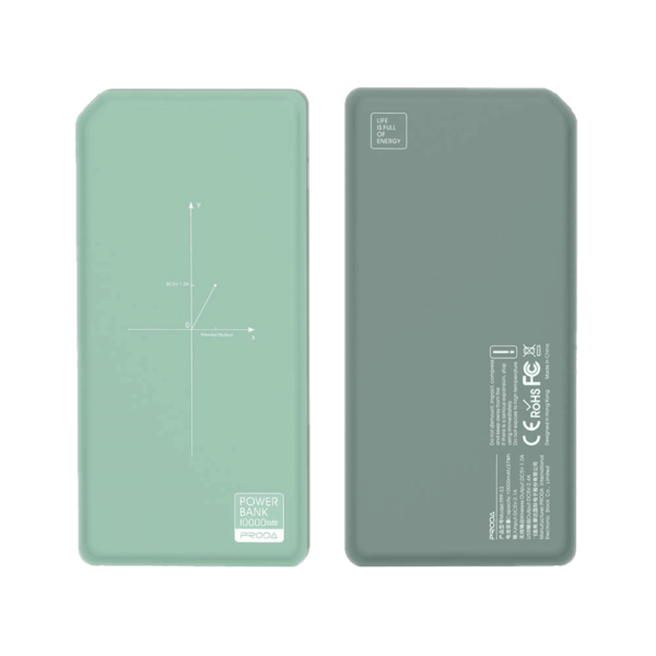 PRODA Wireless power bank 10000mAh PPP-33  green 1