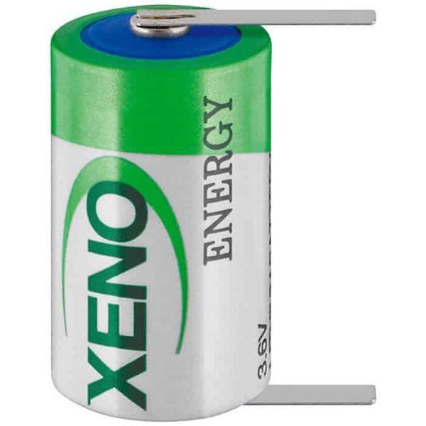XENO XL-050F/T1 Μπαταρία Lithium 1/2 AA, 3,6V 1200mA με λαμάκια 1