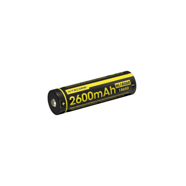 NITECORE NL1826R micro-USB rechargeable 2600mAh Li-ion battery 1