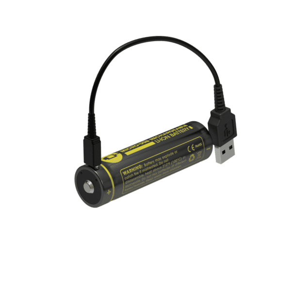 NITECORE NL1826R micro-USB rechargeable 2600mAh Li-ion battery 2