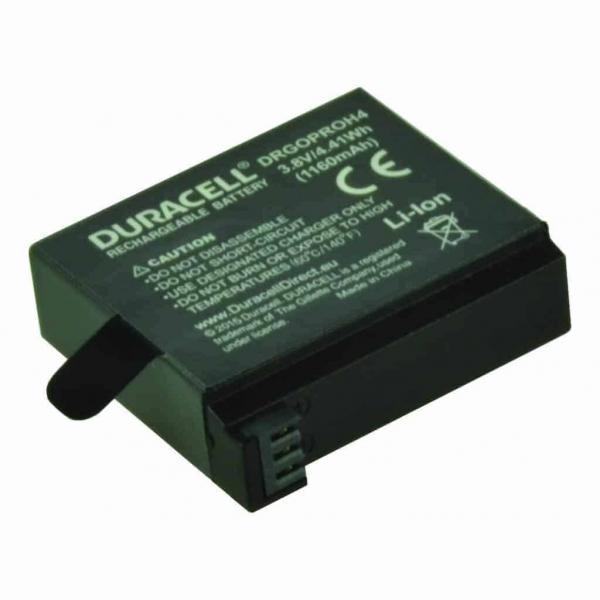 DURACELL Συμβατή μπαταρία για κάμερα GoPro Hero 4 (2τμχ.) DRGOPROH4-X2 2