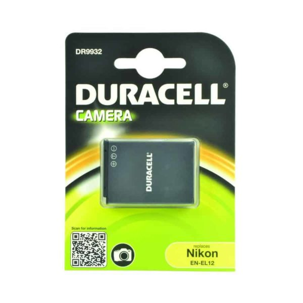DURACELL DR9932 Συμβατή μπαταρία για κάμερα Nikon EN-EL12 1