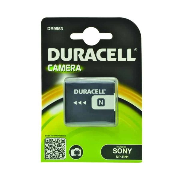 DURACELL DR9953 Συμβατή μπαταρία για κάμερα SONY NP-BN1 1