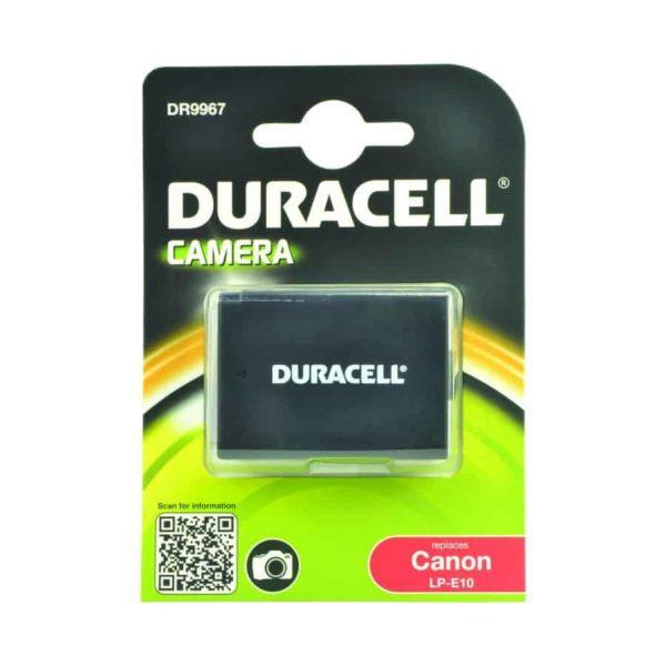 DURACELL DR9967 Συμβατή μπαταρία για κάμερα CANON LP-E10 1