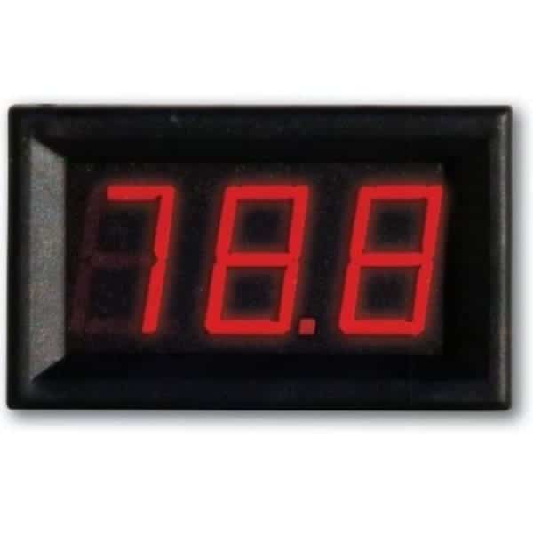 VM-0-100V DC Ψηφιακό βολτόμετρο 0-100V DC 1