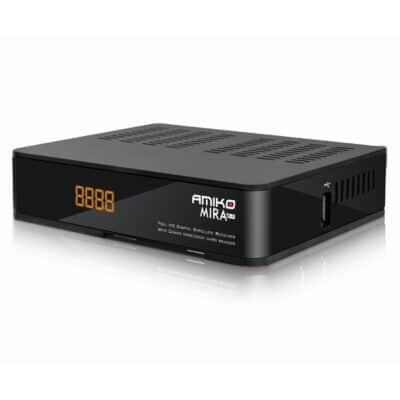 Amiko Mira Wi-Fi Full HD Ψηφιακός Δορυφορικός Δέκτης