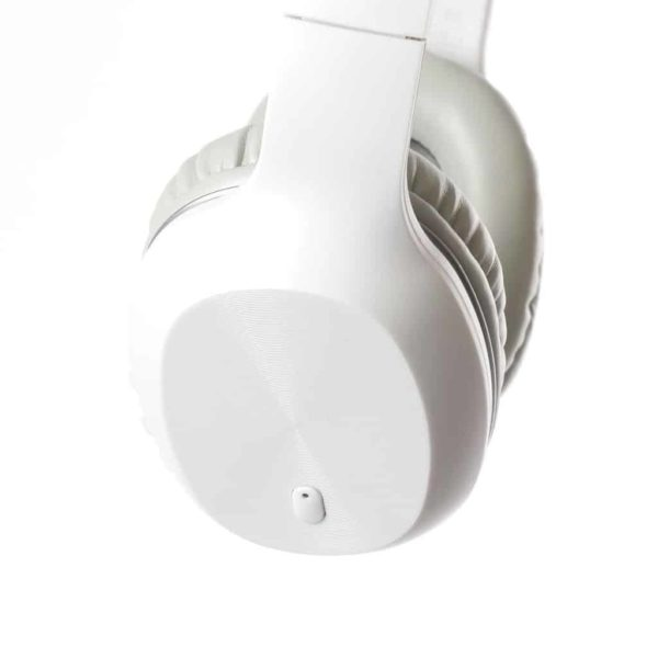 FS BLUETOOTH HEADPHONES WITH BUILT-IN MICROPHONE WHITE FH0918W 2