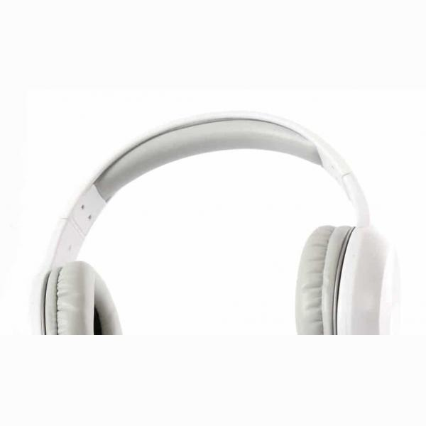 FS BLUETOOTH HEADPHONES WITH BUILT-IN MICROPHONE WHITE FH0918W 3