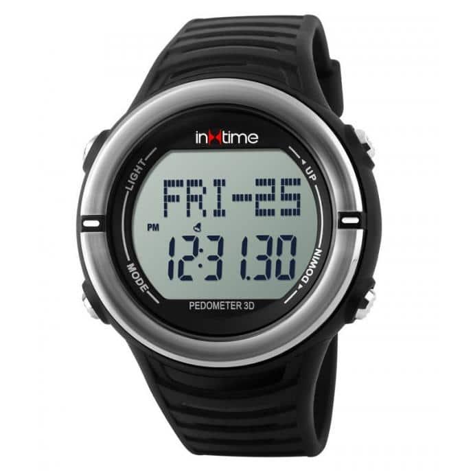 INTIME Ρολόι χειρός Hard-01, Pedometer, Παλμοί καρδιάς, Θερμίδες