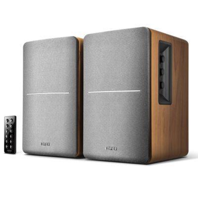 Edifier R1280DB Ξύλινα Ενεργά Ηχεία 42W με Bluetooth Καφέ