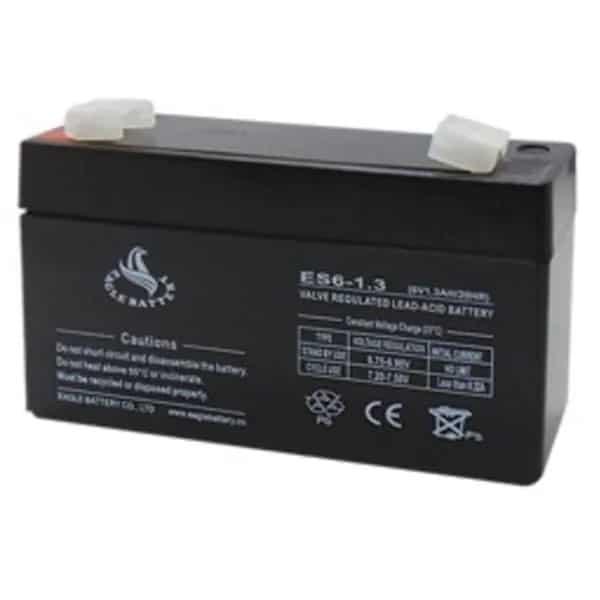Μπαταρία μολύβδου κλειστού τύπου 6V/1.3Ah ES1.3-6 EGL 1
