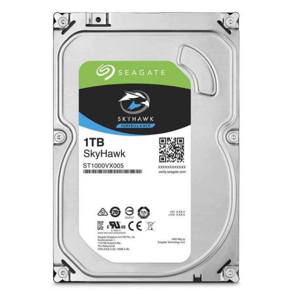 SEAGATE 3.5'' HDD 1TB Sata III SkyHawk ST1000VX005 1