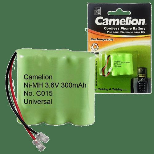 CAMELION C015 3.6V 300mAh ΜΠΑΤΑΡΙΑ ΕΠΑΝ/ΝΗ ΓΙΑ ΑΣΥΡΜΑΤΟ ΤΗΛ. 1