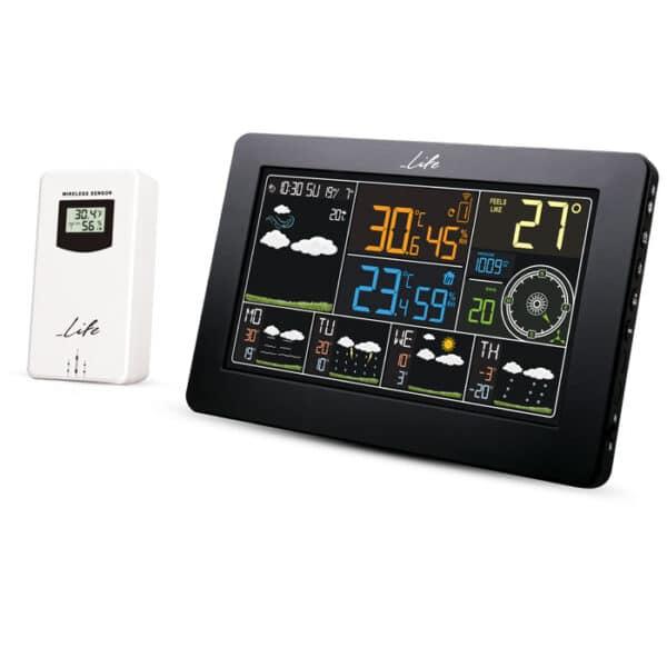 LIFE WES-401 Wi-Fi Μετεωρολογικός σταθμός με ασύρματο αισθητήρα 1