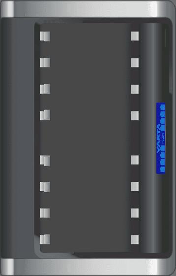 VARTA Φορτιστής Μπαταριών 8xAA/AAA Με Οθόνη & Έξοδο USB 2