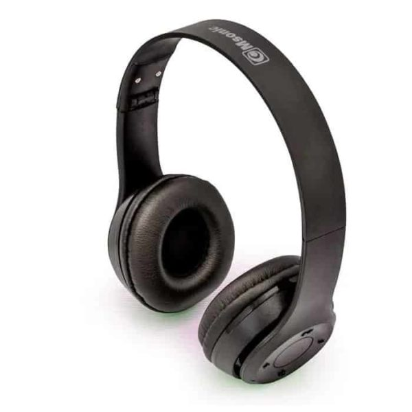 Msonic Bluetooth 4.2 headphones with microphone MH860BX black 1
