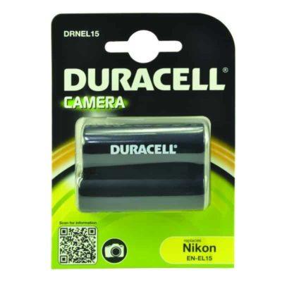 DURACELL DRNEL15 Συμβατή μπαταρία για κάμερα NIKON EN-EL15