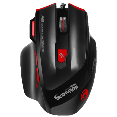 MARVO SCORPION M450 PROGRAMMABLE GAMING MOUSE 6400DPI
