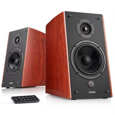 Edifier R2000DB Powered Bluetooth Bookshelf Speakers 120W Brown