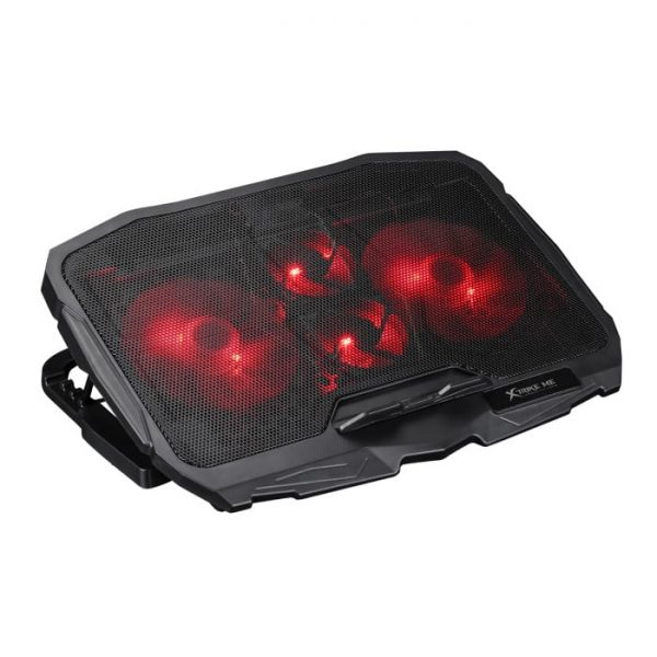Xtrike Me FN-802 Laptop Gaming Cooling Stand with Red Backlight