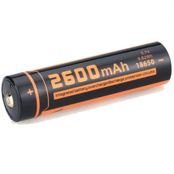 FITORCH UC26R 18650 3.7V 2600mAH Μπαταρία λιθίου με USB φόρτιση 1