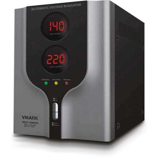 VMARK RE27-1000VA Ψηφιακός αυτόματος σταθεροποιητής τάσης 1
