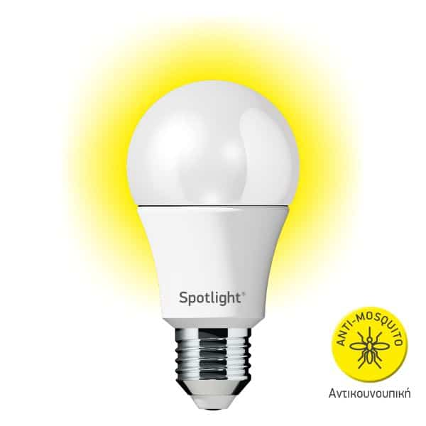 Spotlight Λάμπα LED Αντικουνουπική A60 5W 300LM 5739