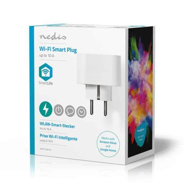 NEDIS WIFIP130FWT Wi-Fi Smart Plug 10A 5