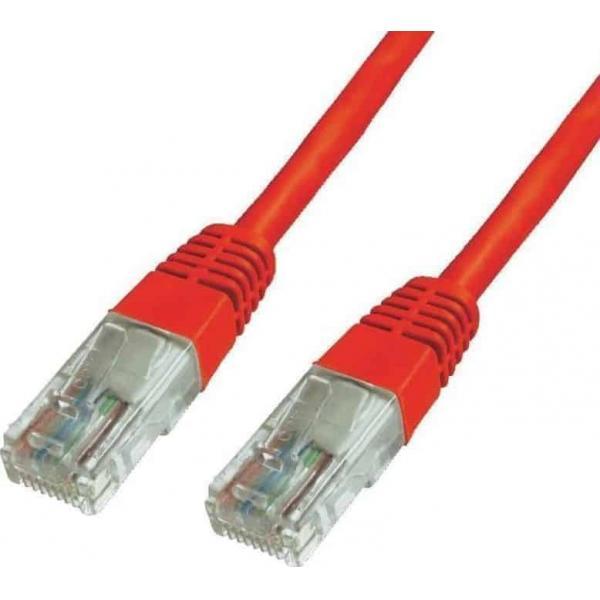 NG Cat6e UTP Patchcord καλώδιο δικτύου 1m κόκκινο (NG-UTP01-RD) 1