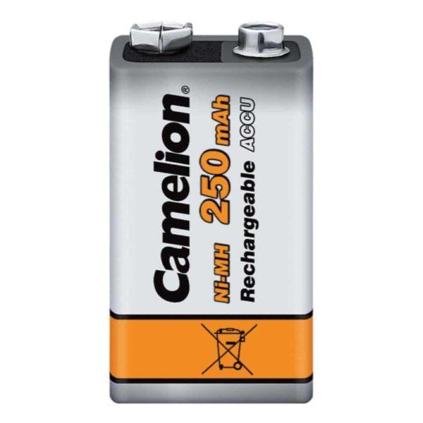 Camelion 9V 250mAh Επαναφορτιζόμενη μπαταρία Ni-MH (1τμχ.) 2