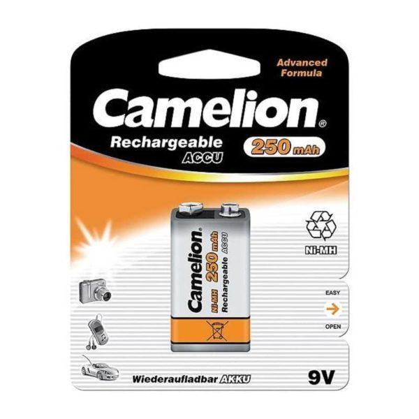 Camelion 9V 250mAh Επαναφορτιζόμενη μπαταρία Ni-MH (1τμχ.) 1